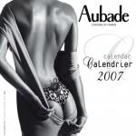 Couverture calendrier Aubade 2007