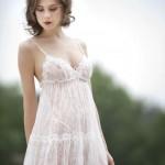 Nuisette + String Marjolaine Lingerie - printemps/été 2012