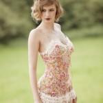Caraco + Culotte Marjolaine Lingerie - printemps/été 2012
