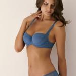 Barbara Fleur de Sucre bleu - printemps/été 2012