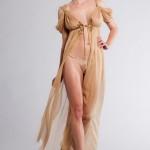 La Lilouche Goldie Glitters Bride Gold Gown