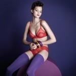 Huit Lingerie Rumeur Rococo rouge - automne/hiver 2012
