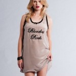 La Lilouche Blondes & Brunettes Rock night shirt - Bedroom Hymns 2012
