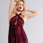 La Lilouche Delia bow tie maxi Gown - Bedroom Hymns 2012