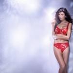 Fauve lingerie Evangeline rouge - automne/hiver 2012