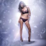 Fauve lingerie Sabine noir - automne/hiver 2012