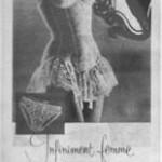 Publicité guêpière Simone Pérèle