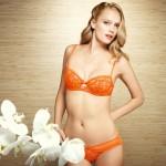 Huit Lingerie Melisande (Neon orange) - printemps/été 2013