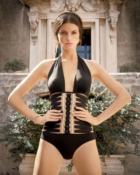 maillots de bain la perla t 2013 le blog lingerie. Black Bedroom Furniture Sets. Home Design Ideas