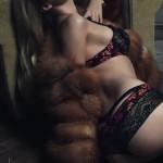 Lingerie Aubade Conte Russe -  Culotte Black Russian