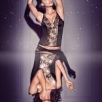 Lingerie Valisere Cirque Lumineux à LED - automne/hiver 2013