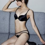 Belle de Nuit Padded Plunge Bra and Brief - Fleur of England