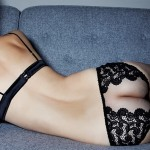 Belle de Nuit Guipure Boudoir Bra and Brief - Fleur of England