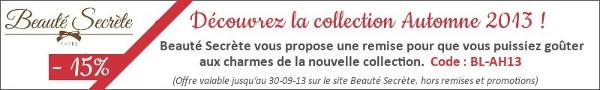 Offre Le Blog Lingerie chez Beauté Secrète