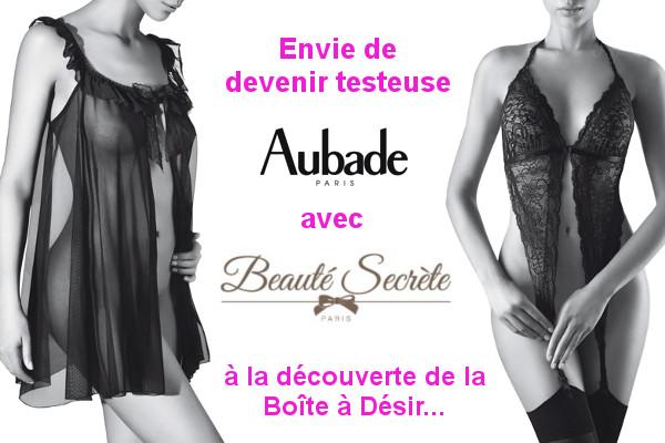 Testez la Boîte à Désir d'Aubade !