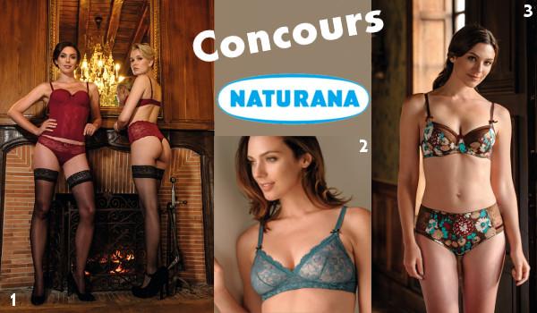 Concours lingerie Naturana !