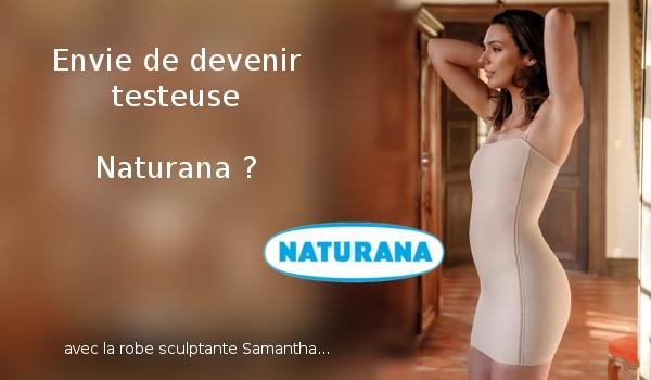 Testez la Robe Sculptante Naturana !