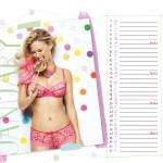 Calendrier lingerie Passionata Janvier 2014