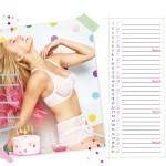 Calendrier lingerie Passionata Avril 2014
