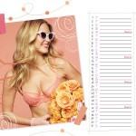 Calendrier lingerie Passionata Mai 2014