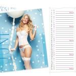 Calendrier lingerie Passionata Juin 2014