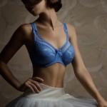 Lingerie Empreinte Grace lazuli - printemps/été 2014