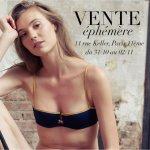 News : La vente éphémère d'automne de la lingerie Ysé