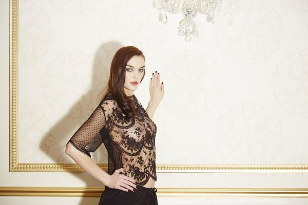 Les nuisettes de Shell Belle Couture automne / hiver 2014
