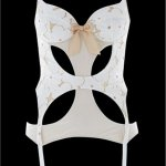 Lucy Lace Basque Ivory