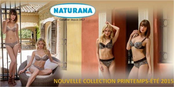 La collection printemps / été 2015 de Naturana