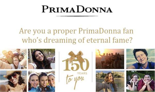 Bon 150ème anniversaire à PrimaDonna!