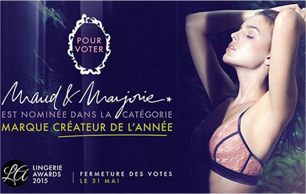 Maud & Marjorie aux Lingerie Awards