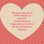 Les Happy Hours de collant.fr !