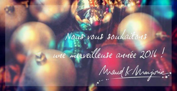 Les vœux de Maud & Marjorie