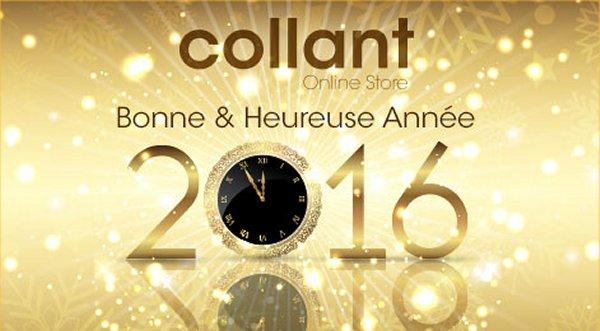 Les voeux de COLLANT.FR