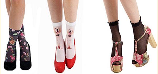 Les chaussettes chics de Pamela Mann